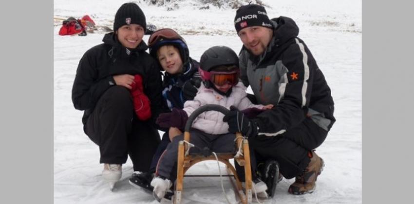 Martina z družino